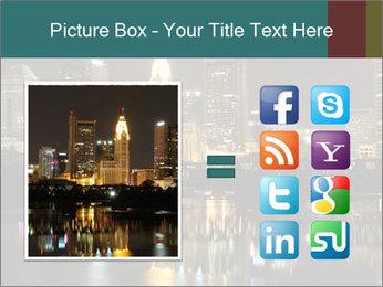 Night lights City PowerPoint Templates - Slide 21