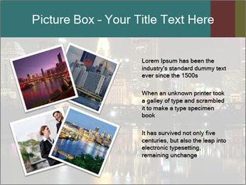 Night lights City PowerPoint Templates - Slide 23