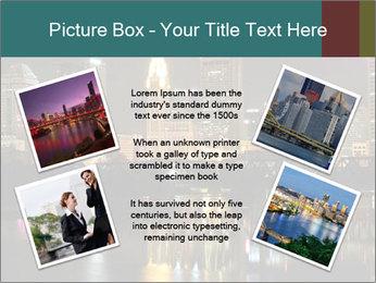 Night lights City PowerPoint Templates - Slide 24
