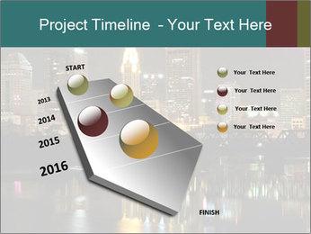 Night lights City PowerPoint Templates - Slide 26