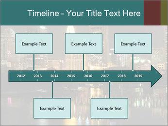 Night lights City PowerPoint Templates - Slide 28