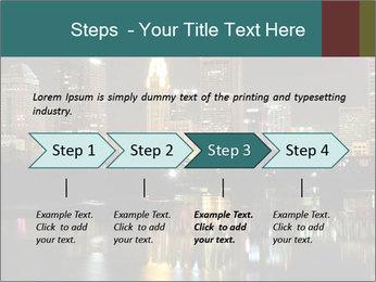 Night lights City PowerPoint Templates - Slide 4