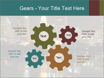 Night lights City PowerPoint Templates - Slide 47