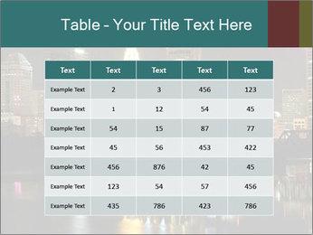 Night lights City PowerPoint Templates - Slide 55