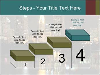 Night lights City PowerPoint Templates - Slide 64