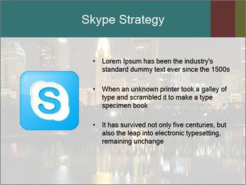 Night lights City PowerPoint Templates - Slide 8