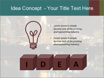 Night lights City PowerPoint Templates - Slide 80