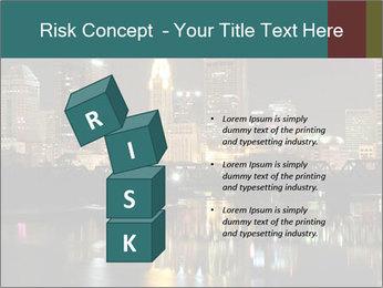 Night lights City PowerPoint Templates - Slide 81