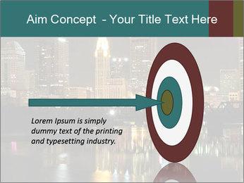 Night lights City PowerPoint Templates - Slide 83