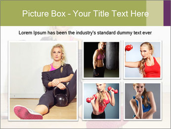 Healthy girl relaxing PowerPoint Templates - Slide 19