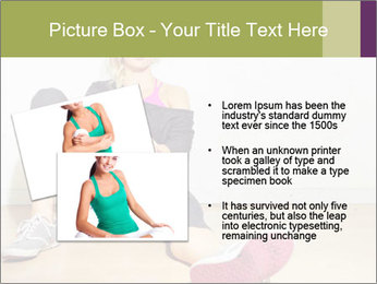 Healthy girl relaxing PowerPoint Templates - Slide 20