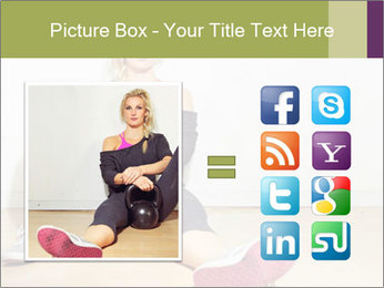Healthy girl relaxing PowerPoint Templates - Slide 21