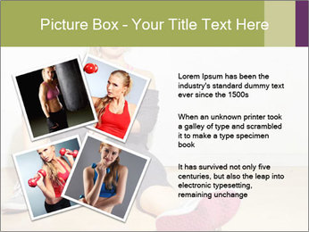 Healthy girl relaxing PowerPoint Templates - Slide 23