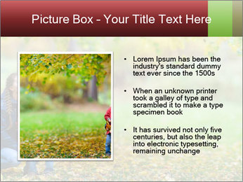 Beautiful autumn park PowerPoint Template - Slide 13