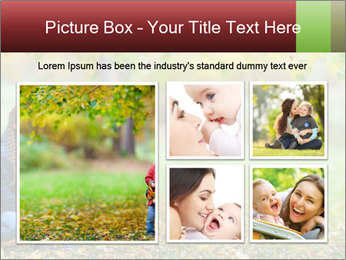 Beautiful autumn park PowerPoint Template - Slide 19