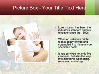 Beautiful autumn park PowerPoint Template - Slide 20