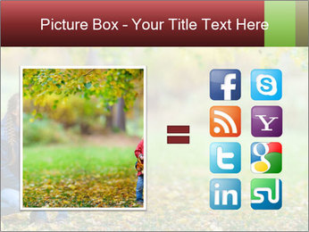 Beautiful autumn park PowerPoint Template - Slide 21