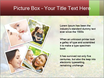 Beautiful autumn park PowerPoint Template - Slide 23