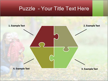 Beautiful autumn park PowerPoint Template - Slide 40