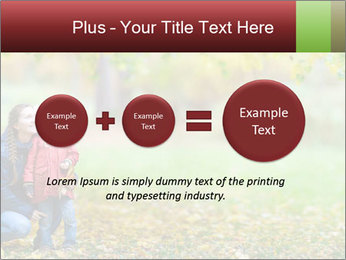 Beautiful autumn park PowerPoint Template - Slide 75