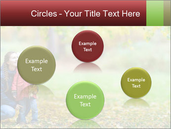 Beautiful autumn park PowerPoint Template - Slide 77