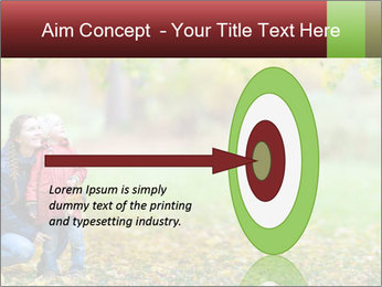 Beautiful autumn park PowerPoint Template - Slide 83