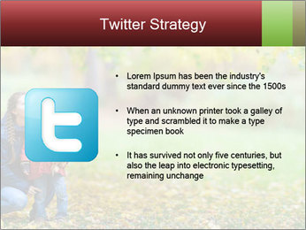 Beautiful autumn park PowerPoint Template - Slide 9