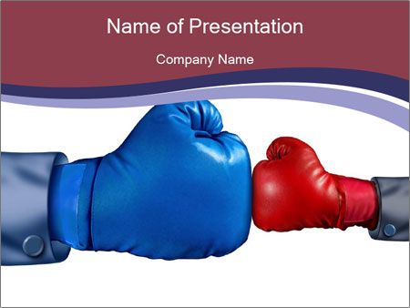 Fighting the establishment PowerPoint Template