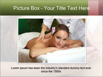 Man enjoying face massage PowerPoint Template - Slide 16