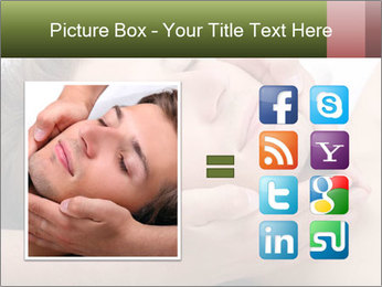 Man enjoying face massage PowerPoint Template - Slide 21