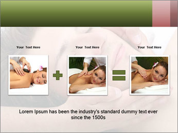 Man enjoying face massage PowerPoint Template - Slide 22