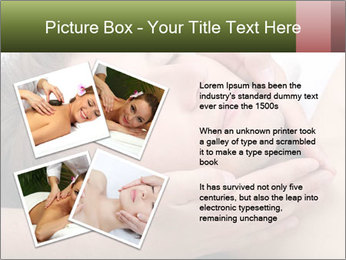 Man enjoying face massage PowerPoint Template - Slide 23