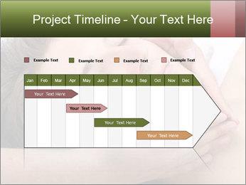 Man enjoying face massage PowerPoint Templates - Slide 25