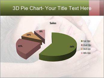 Man enjoying face massage PowerPoint Templates - Slide 35