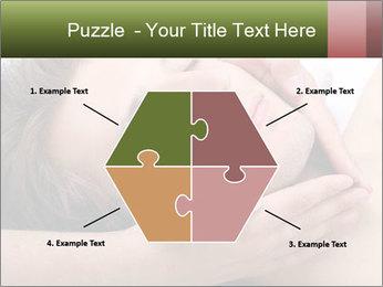 Man enjoying face massage PowerPoint Templates - Slide 40