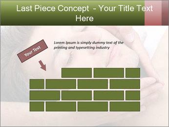 Man enjoying face massage PowerPoint Templates - Slide 46