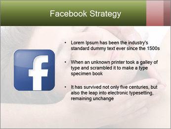 Man enjoying face massage PowerPoint Templates - Slide 6