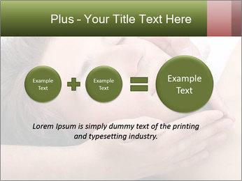 Man enjoying face massage PowerPoint Templates - Slide 75
