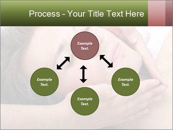 Man enjoying face massage PowerPoint Templates - Slide 91