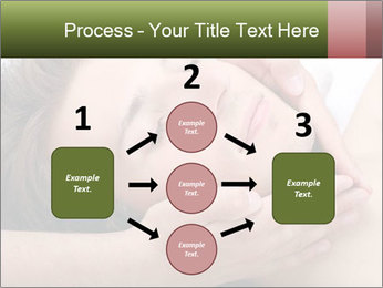 Man enjoying face massage PowerPoint Templates - Slide 92