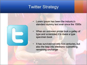 Celebrating Woman PowerPoint Template - Slide 9