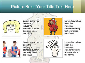 Cartoon christmas tree PowerPoint Templates - Slide 14