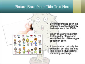 Cartoon christmas tree PowerPoint Template - Slide 20