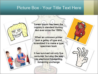 Cartoon christmas tree PowerPoint Template - Slide 24
