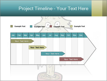Cartoon christmas tree PowerPoint Template - Slide 25