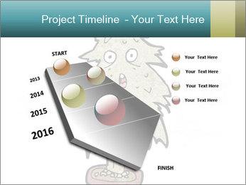 Cartoon christmas tree PowerPoint Template - Slide 26