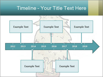 Cartoon christmas tree PowerPoint Templates - Slide 28