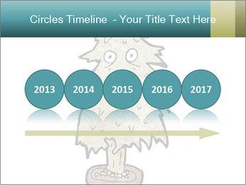 Cartoon christmas tree PowerPoint Templates - Slide 29