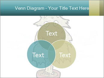 Cartoon christmas tree PowerPoint Template - Slide 33