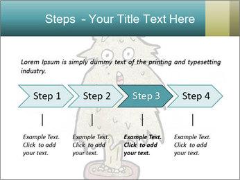 Cartoon christmas tree PowerPoint Template - Slide 4